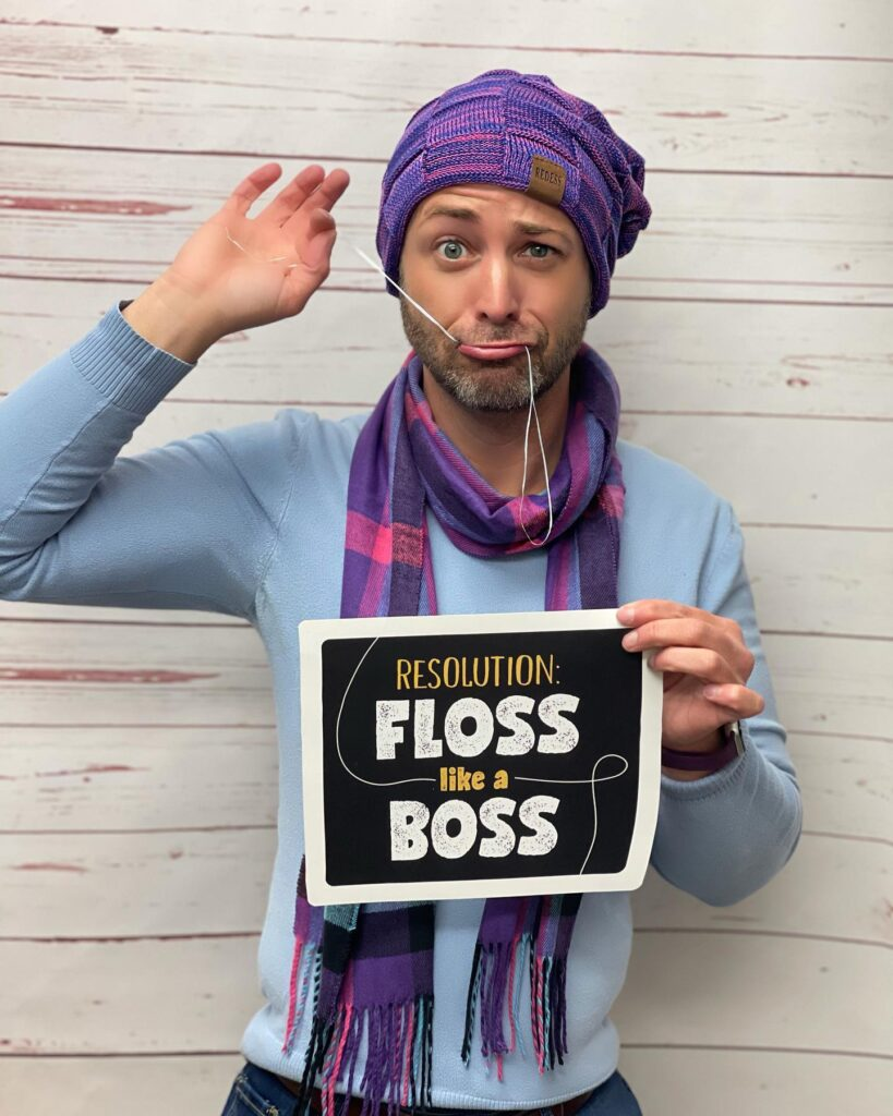 Town & County Dental Care new year resolution 2021 best dentist quotes floss like a boss