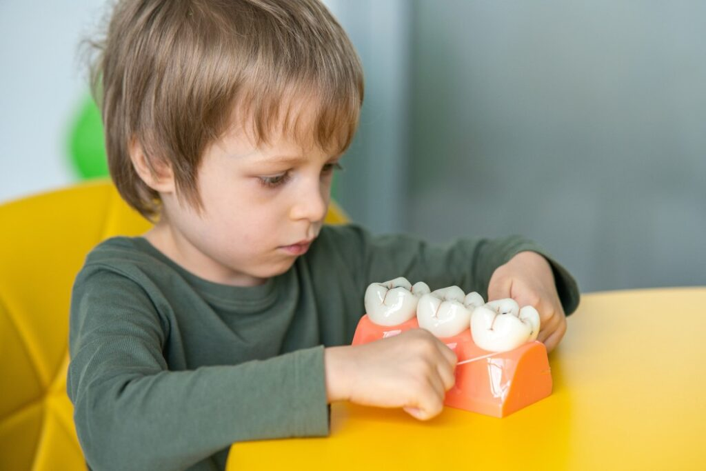 Town & County Dental Care kid pediatic learning aobout teeth