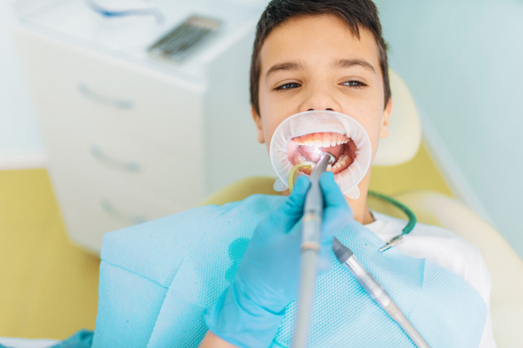 Town & County Dental Care Caries removal procedure, pediatric dentistry